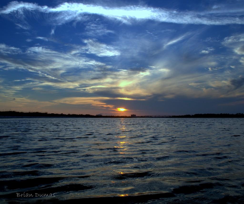 Perdido Key Fl: Perdido Key Sunset August 8 2012 By Brian Dumas