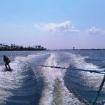 JP Hughes and Collin Acromite Wakeboarding in Ole River Perdido Key FL 8-12-12