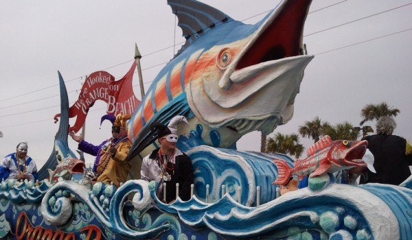 Mardi Gras Float - Orange Beach