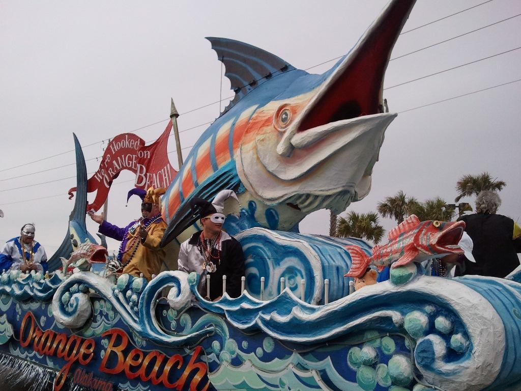 Mardi Gras Parade Floats