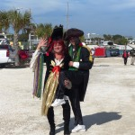 Pirates of Lost Treasure Mardi Gras Pirate Flotilla 2013 Happy Couple