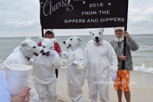 Flora Bama Polar Bear Dip 2016 Polar bears